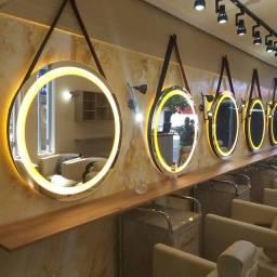 Espelhos com Led