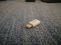Adaptador micro USB fêmea para USB-C macho da Huawei