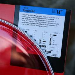 Pele Para Caixa e Tom Evans 14 Hidráulica Red TT14HR