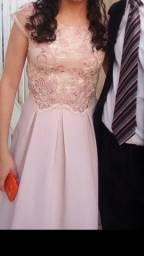 Vestido de festa// Rose/ Marsalla//vestido longo