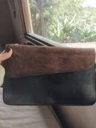 Bolsa de couro dupla face