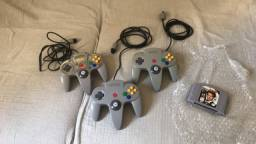 Joysticks N64 e 007 Goldeneye