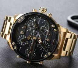 Relógio Luxo Diesel Aço Inoxidável
