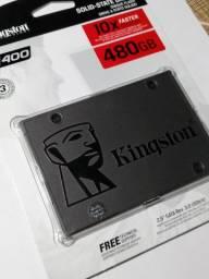 HD Hard disk Kingston ssd A400 480gb Sata 3 530mb/s - Lacrado