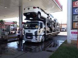 Título do anúncio: Ford Cargo Cegonha, 7 carros.
