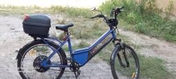 Bicicleta eletrica semi nova com 4 meses de uso