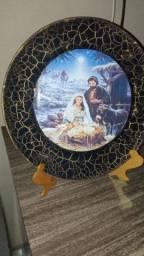Artesanato em prato decorado