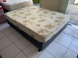 cama box casal - espuma firme - entrego
