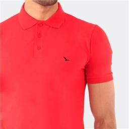 Camisa Polo Yacht Master  Lisa Vermelha Tamanhos Grandes
