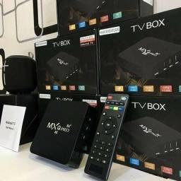 Aparelho tv box 4gb de Ram + 32gb de memoria interna (fazemos entrega)