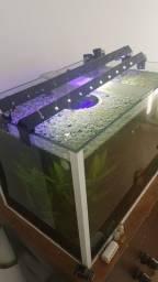 Título do anúncio: Aquario com movel 85 litros completo