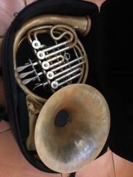 Trompa Hans Hoyer 706 Sib/Fa Alemã Profissional