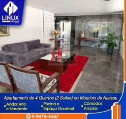 Vendo/Alugo Apartamento de 220m² com 04 quartos (02 suítes) em Caruaru/PE.