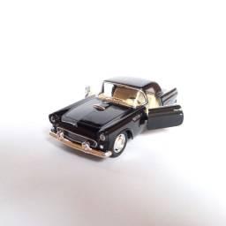 Miniatura Ford Thunderbird 1955 Carrinhos Coleção escala 1/36