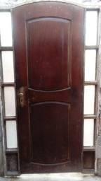 Título do anúncio: Porta de madeira pura Angelim