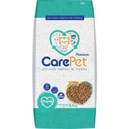 Granulado higienico care pet de madeira gatos e roedores
