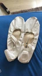Sapatilha de ballet de meia ponta