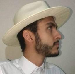 Título do anúncio: Chapéu Panamá Branco