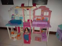 Casa da barbie de elevador