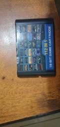Cartucho 112 Jogos Em 1 para o Mega Drive