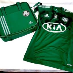 Kit Palmeiras Camisa Techfit Bolsa Adidas 2012 Futebol