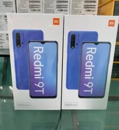 Xiaomi Redmi 9T 128GB 4GB ram 6000mAh bateria novos