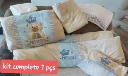 Título do anúncio: Kit para berço, colchão e mantas