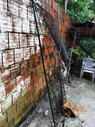 Portão de ferro em ótimas condições