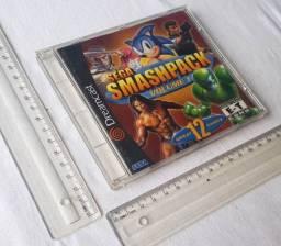 Cd Jogo Original Dreamcast - Sega Smashpack Volume 1 - Mídia Física