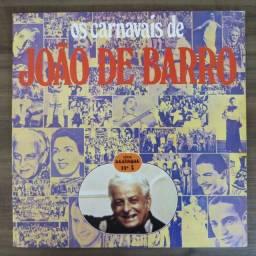 LP Disco De Vinil - Os Carnavais De João De Barro *excelente estado