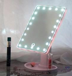 Título do anúncio: Espelho de mesa com 22 leds - maquiagem - b06