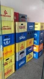 Grades de Cervejas 600ml Vasilhames + Grades