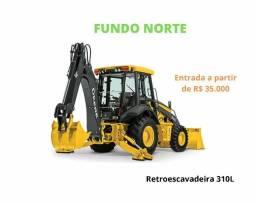 Título do anúncio: RETROESCAVADEIRA 310 L . ENTRD+PARCELS