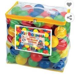 Título do anúncio: Bolinhas coloridas de plástico 100und