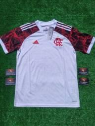 Título do anúncio: Camisa branca do Flamengo 2021/2022