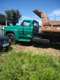 Caminhão F600 1979 Caçamba