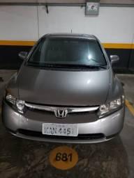 Honda Civic Automático, com bancos em couro - 2008
