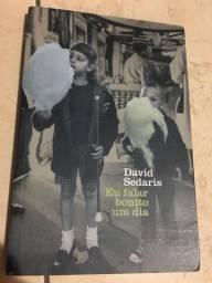 Livro eu falar bonito um dia - David sedaris