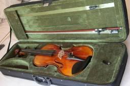 Violino artesanal, 100% feito a mão