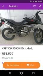 Vendo XRE 300 2010/2011 toda em dia - 2010