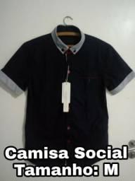 Camisa Social e Camisa Polo