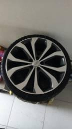 Jogo de rodas aro 20 pneus 225/35/r20