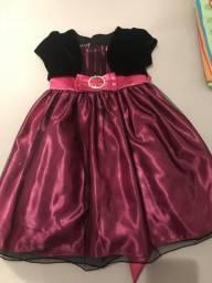 Vestidos infantil Luxooooo 3/4 anos