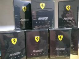 Ferrari Scuderia Black 125ml Original Lacrado