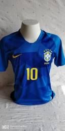 Camisa Brasil Neymar Jr 10 2018