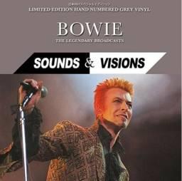 David Bowie Sounds & Visions Vinil Lp Cinza Importado Lacrado Pronta Entrega
