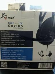 Kit Mouse, Teclado e Headset