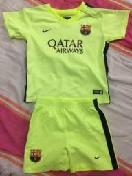 Conjunto Barcelona para criança