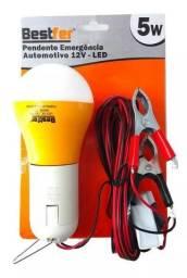 Lampada Led 12v Auxiliar Emergência