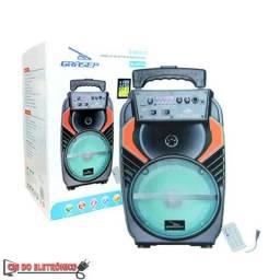Caixa de Som Portatil Bluetooth c/ Microfone (D-BH8103)
